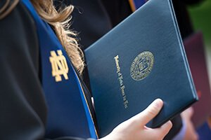 Commencement is here! Congratulations to all @NotreDame students, including the 35 w/ nat. & intl. fellowships: https://t.co/1xXldj157r https://t.co/5yKIgUiEsa