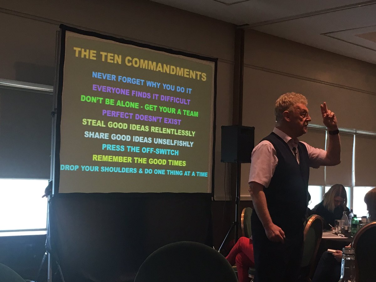 The Ten Commandments by the inspirational @sirjohnfjones @GCCSecLearning  #GCCLTSec #middleleadership #MakeADifference<br>http://pic.twitter.com/iE0Xs2DNQC