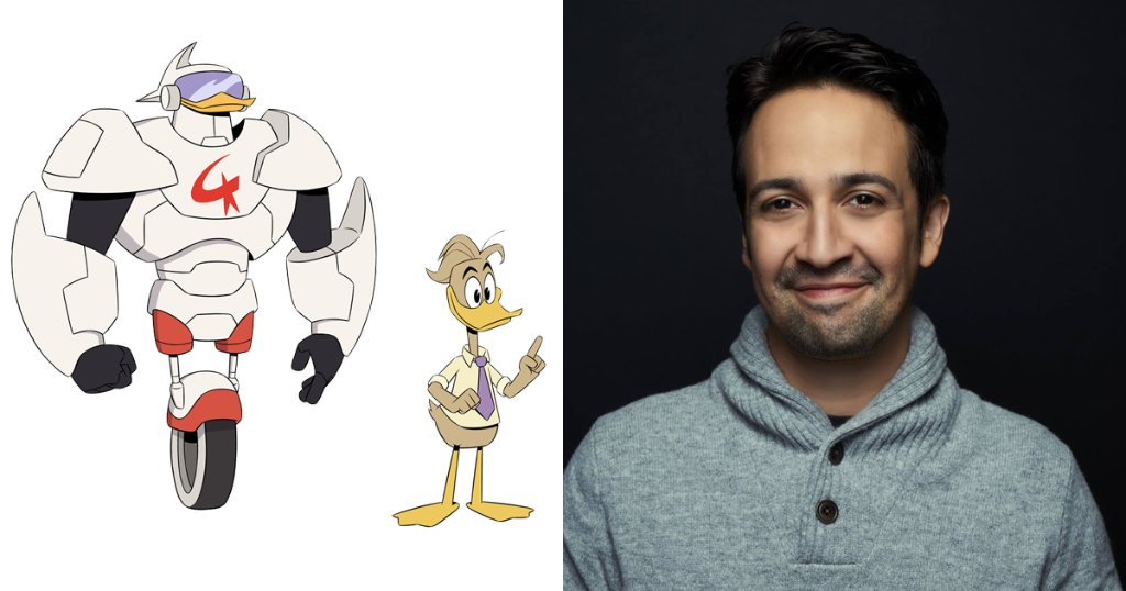 .@Lin_Manuel Joins the Voice Cast of the New #DuckTales Series Coming to @DisneyXD! Woo-oo!  http:// di.sn/60128iihe  &nbsp;  <br>http://pic.twitter.com/DdWkNq6swp