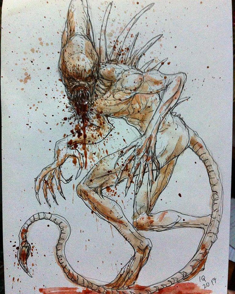 Quick sketch-Neomorph #neomorph #aliencovenant  #alien #drawing #illustration #darkhorse #darkhorsecomics #backburster<br>http://pic.twitter.com/JWDVb5MH50