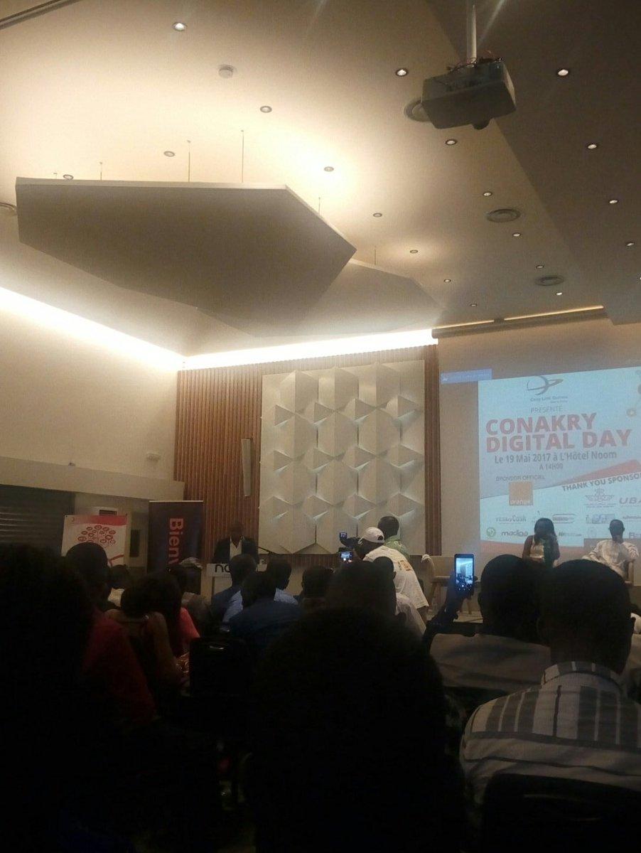 Discours d&#39;ouverture de #ConakryDigitalday  @ckrydigitalday #kibaro #Team224 <br>http://pic.twitter.com/cCeb76tGeZ