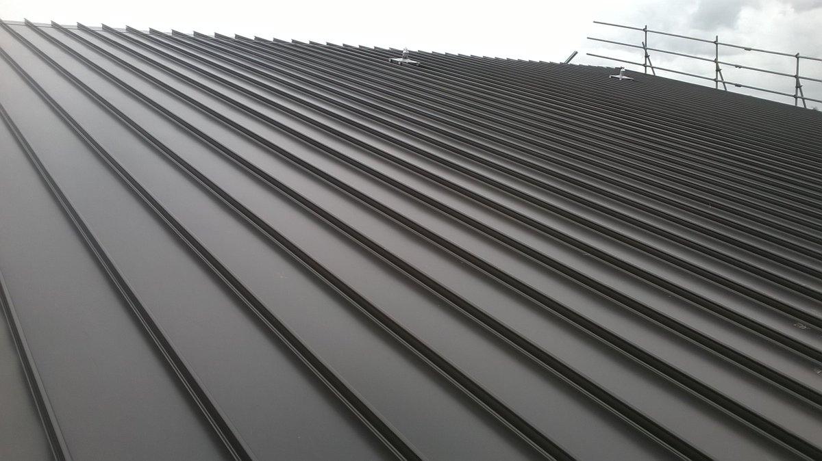Kalzip Curved Roof Detail