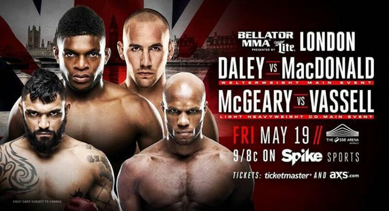 A las 22:00 #BellatorxFOX ¡EVENTAZO! Desde Inglaterra por FOX Sports 2...