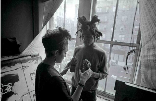 Jean-Michel #Basquiat and #Madonna in 1982, by Stephen Torton.<br>http://pic.twitter.com/UgmQ2FApd4