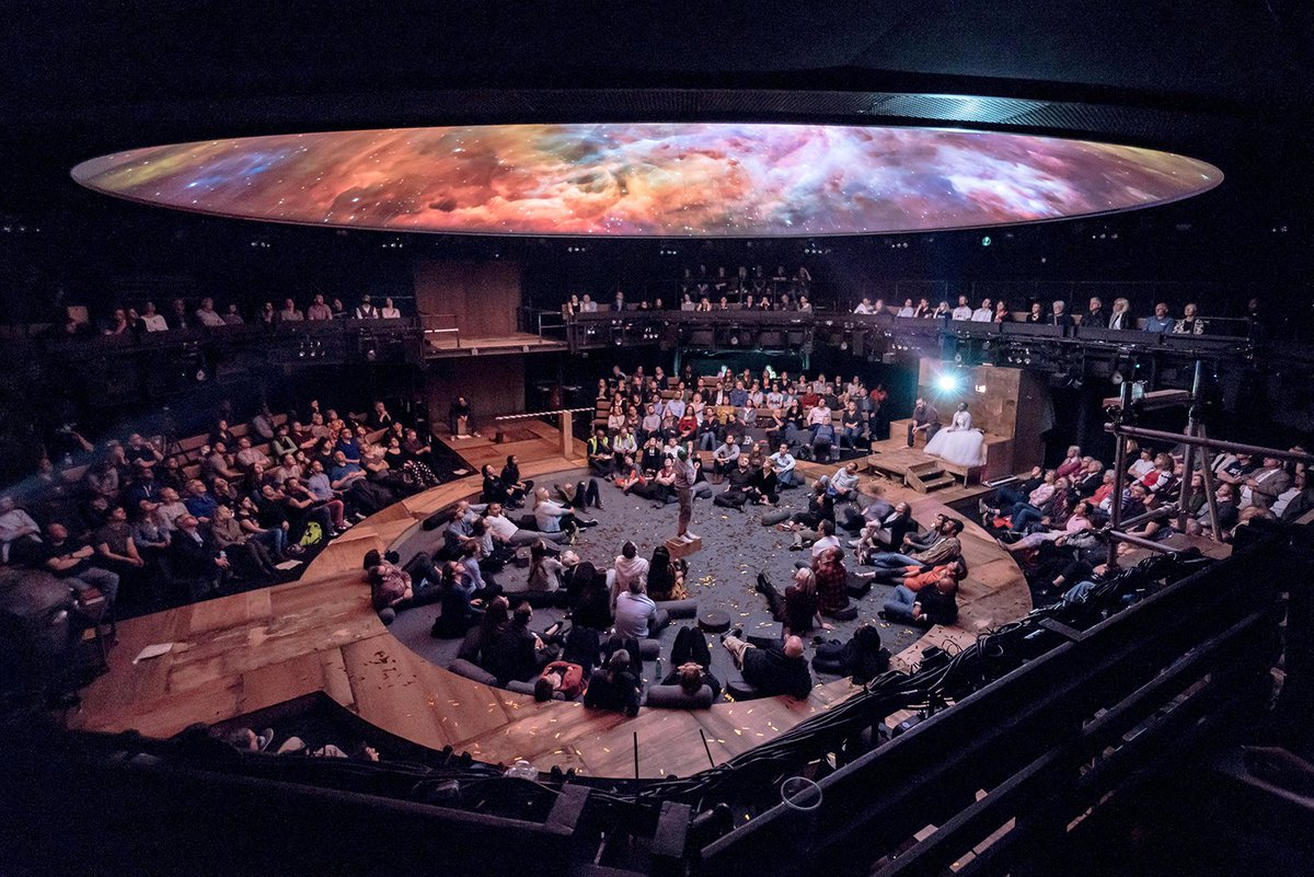 """★★★★ """"This is a trip, and a good one at that."""" @TimeOutTheatre on #LifeofGalileo  https://www. youngvic.org/whats-on/life- of-galileo &nbsp; … <br>http://pic.twitter.com/d7B0C29TqL"""