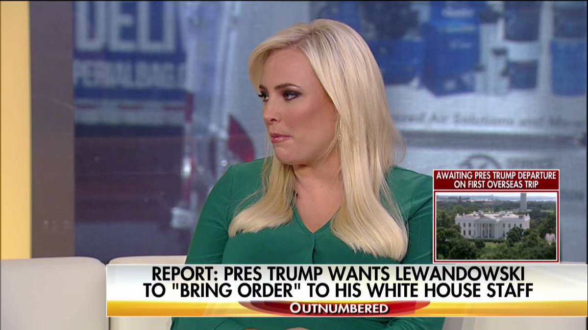 .@MeghanMcCain: '@SarahHuckabee... is a breath of fresh air in the White House Press Briefing Room.' #Outnumbered