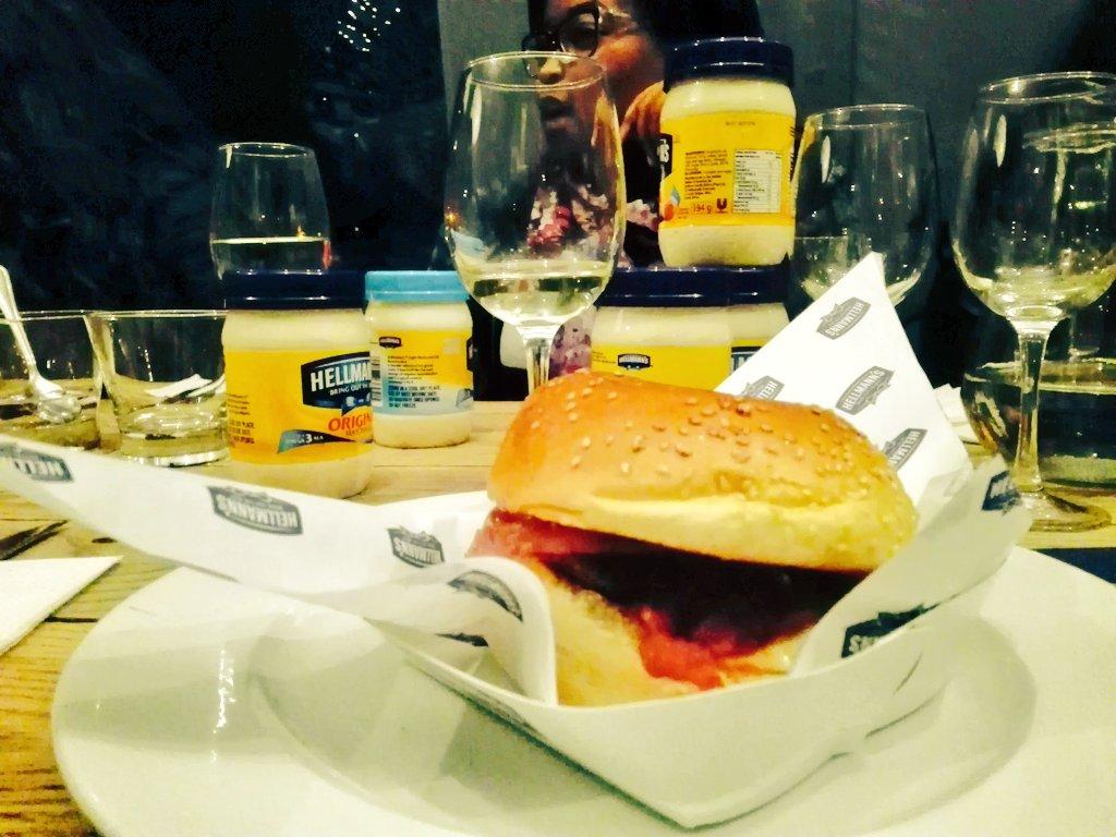 The boss @HellmannsZA burger. #ZomatoXHellmanns https://t.co/nNnlMlZEuH