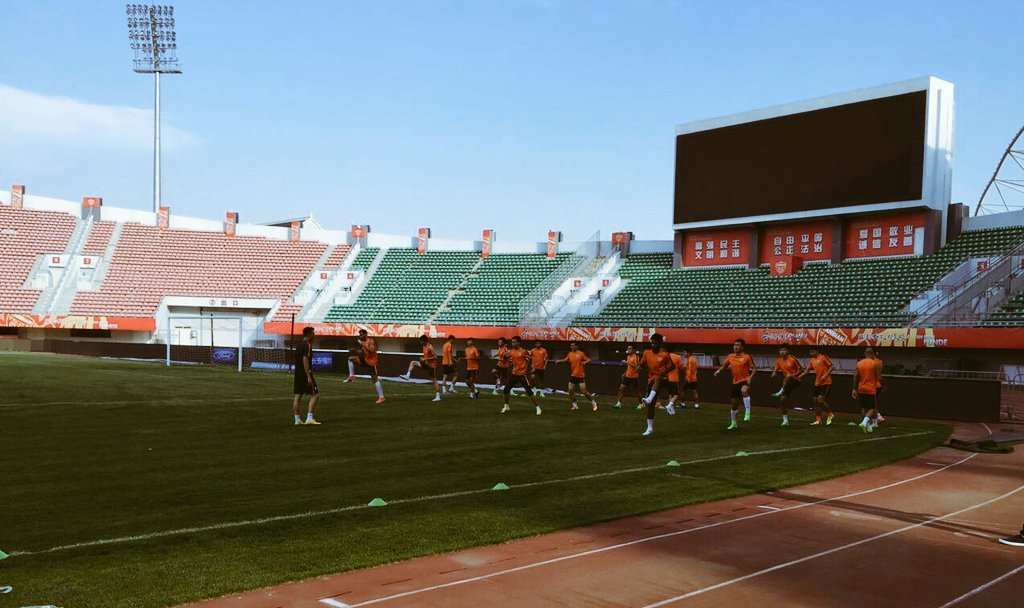 Squad is ready for our important #csl away match at #YanbianFunde. Let&#39;s get back to winning ways at Yanji Stadium #GoShandong<br>http://pic.twitter.com/AaNTBo6hi4