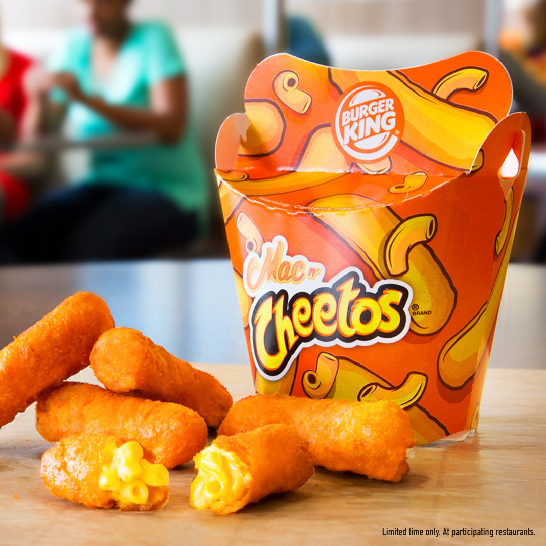 Burger King On Twitter Mac N Cheetos Are Back For Now Get Em