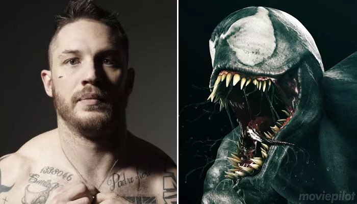 Charlie Schneider On Twitter Oh And Tom Hardy Is Venom In The