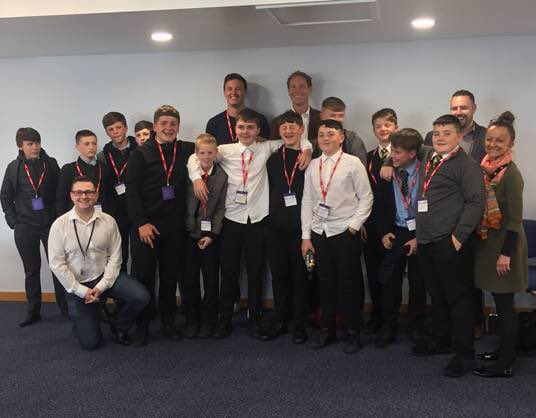 What an amazing day @bt_uk Swansea for our #RugbyWorksWales young people thinking about future careers! https://t.co/OalPRpQGHK