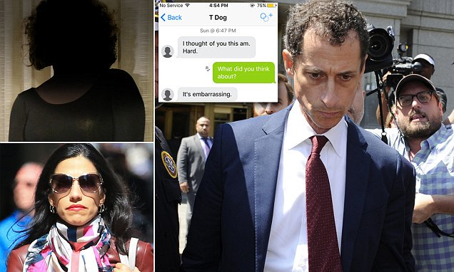 Anthony Weiner (Democrat) faces jail time for underage sexting case