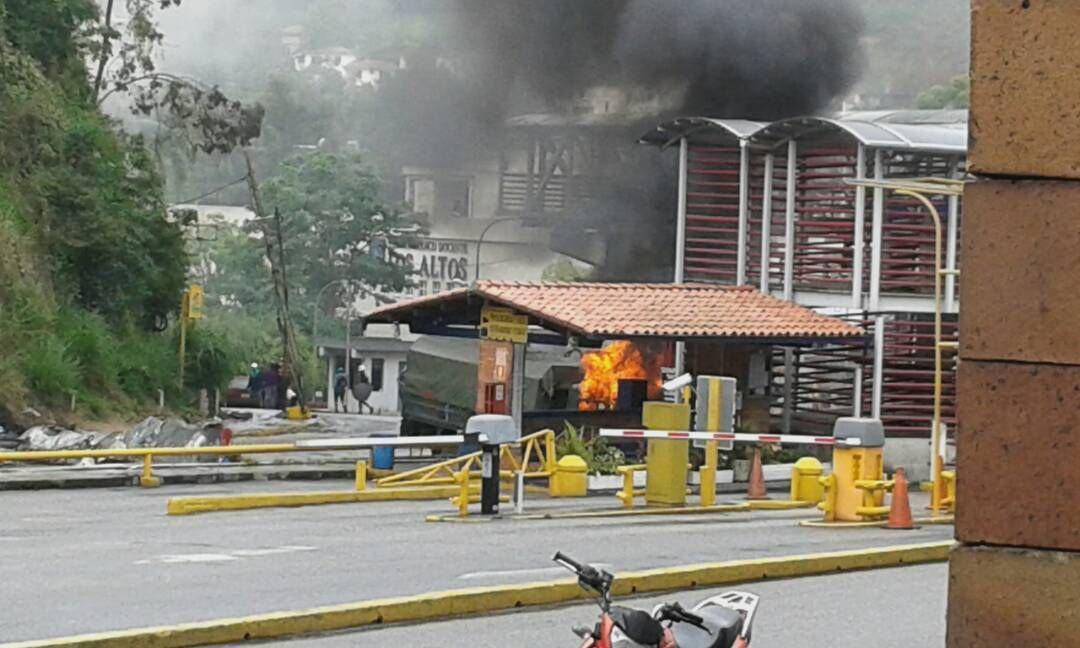 Situation now at Montaña Alta