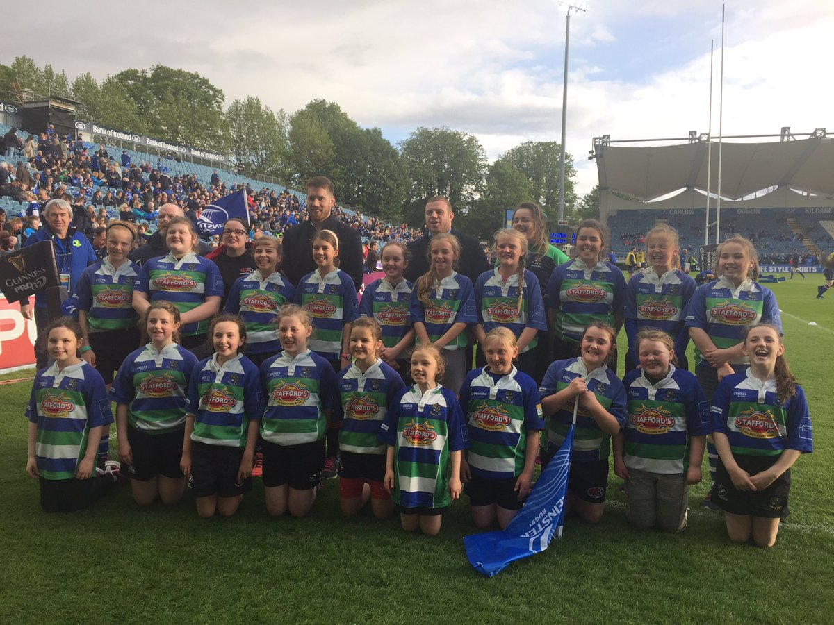 Such an honour for the U12s girls today...