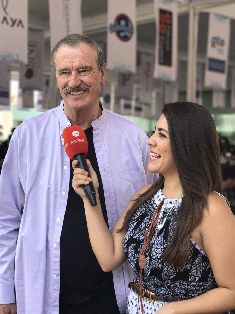 Desde @centrofox saludo a México a través de @Milenio, una experiencia sin igual la del #HACKATONCFOX