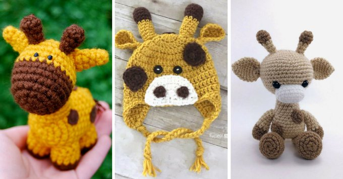 15 Crochet Giraffe Patterns