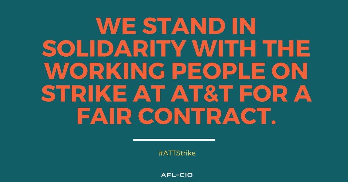 We are with you every step of the way. #ATTSTRIKE https://t.co/TnQHs4S...