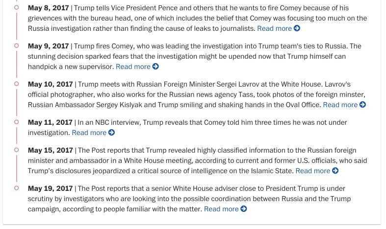 Russia probe reaches current White House official, people familiar with the case say. Our updated timeline: https://t.co/kIsj4vT3hh