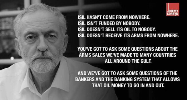 #WhyVote in UK&#39;s #GE17/#GE2017 ? Because UK has a real choice between #USA&#39;s #Wars &amp; #Bankers&#39; #Austerity AND Peace &amp; Prosperity #ForTheMany!<br>http://pic.twitter.com/fQMTDAlxkO