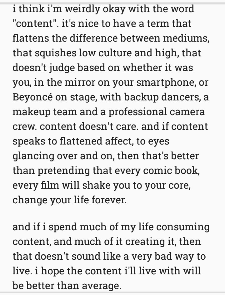 """wrote about """"content"""" on the train https://t.co/Jx13YuoreV"""
