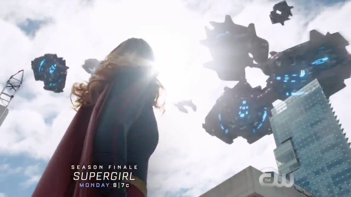 For the Earth. The season finale of #Supergirl is TONIGHT at 8/7c on T...