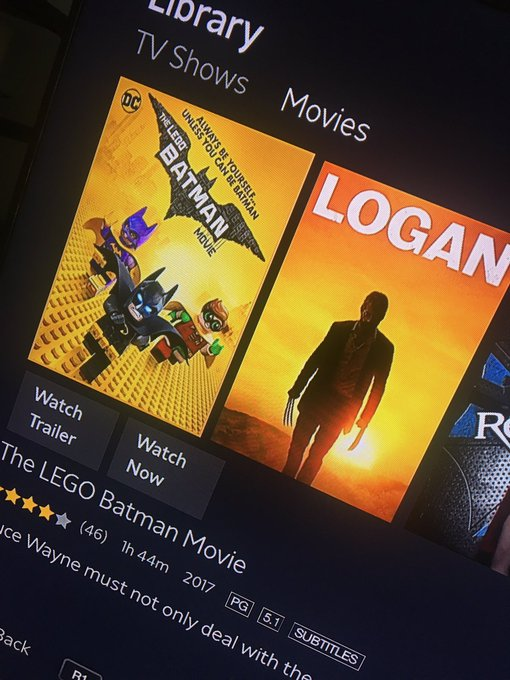 I'm such a dork and I love it...Lego Batman and Logan just popped up on my Amazon Video 😍 #Stoner #Happiness