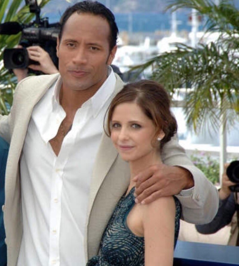 #FlashbackFriday with @TheRock in honor of the #CannesFilmFestival htt...