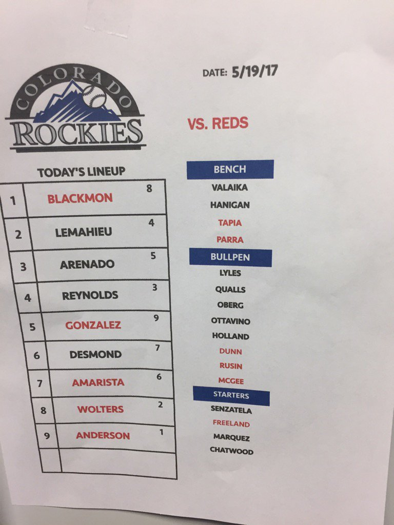 Rockies vs  Twins doubleheader live blog for May 18, 2017 | Page 5