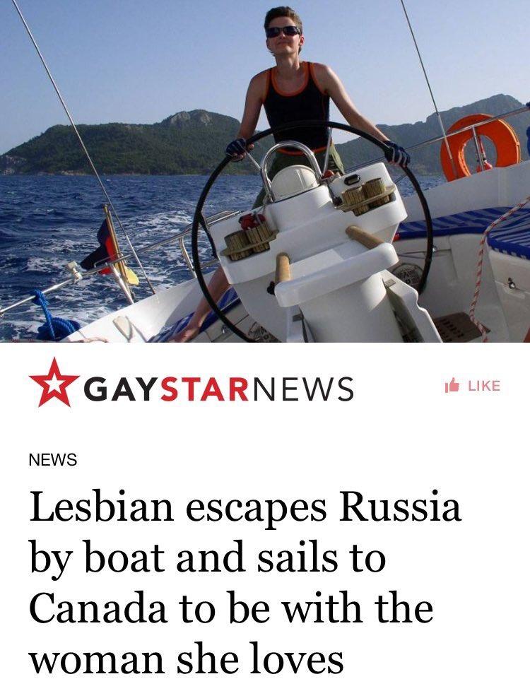 Lesbian On A Boat