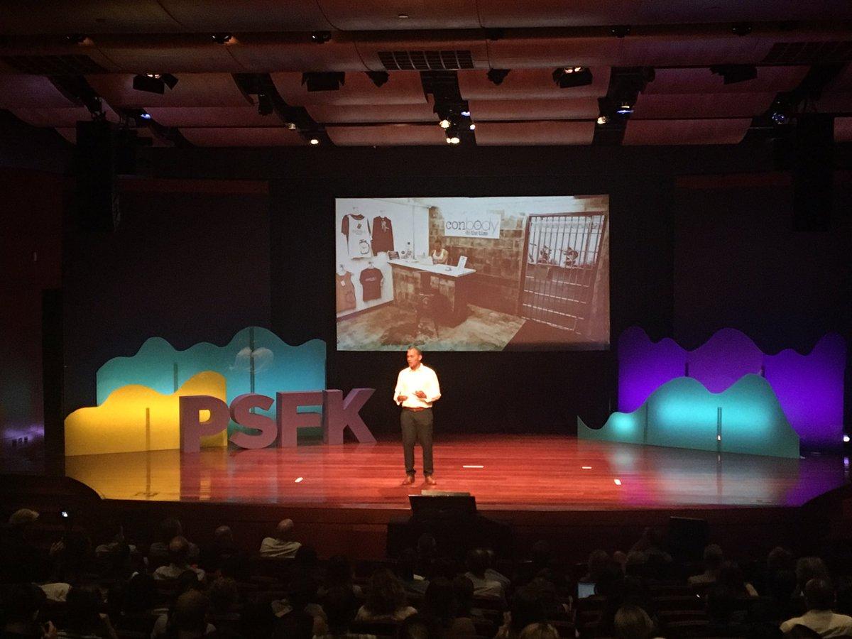 Unbelievably inspiring story of an ex-con turned fitness entrepreneur @conbodynyc. @PSFK nailed it again. #psfk2017 <br>http://pic.twitter.com/HBvmO9qzD2