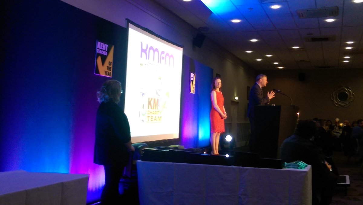 And we are off! Inspirational stories about amazing Kent teachers. :-) #KMTOTY https://t.co/8BuxPJwG84