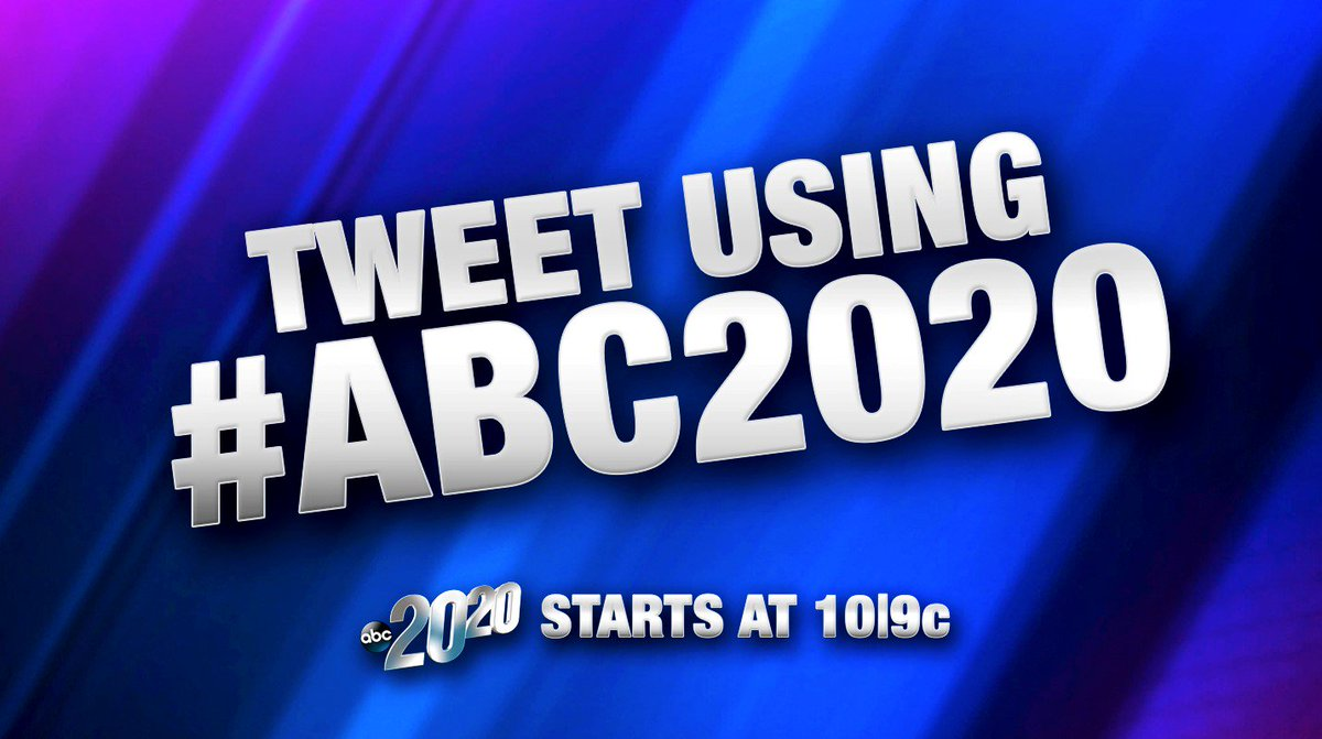 Tweet tonight using #ABC2020, east & central - what do you think o...
