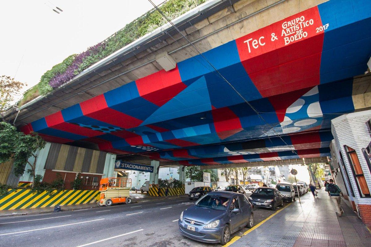 Artistico Boedo On Twitter Mural Nº 101 La Autopista Del Sur