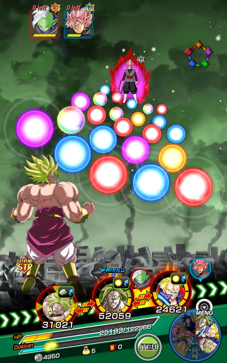 Try to notice the differences on the screenshots? UR 120LV  LSSJ Broly and LR 150LV LSSJ Broly #DOKKANBATTLE #DBZ #F2P #Broly #LR <br>http://pic.twitter.com/PG2LO2oHE4