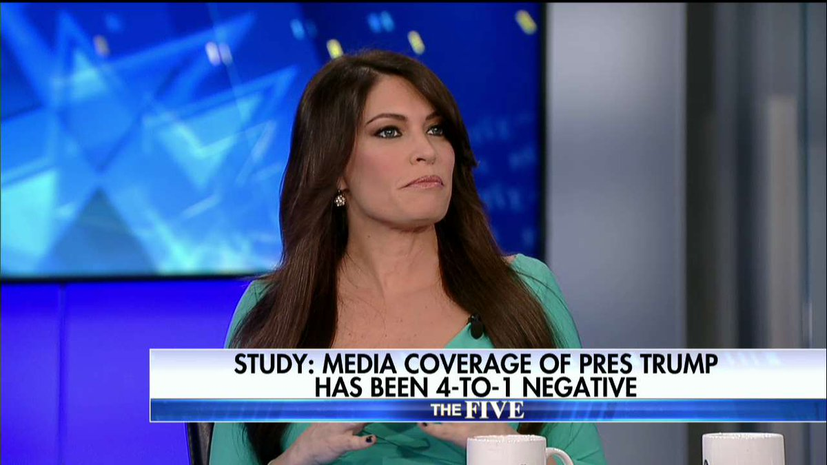 .@kimguilfoyle on media coverage of @POTUS: They don't want to cover the positive news because it doesn't fit their narrative. TheFive