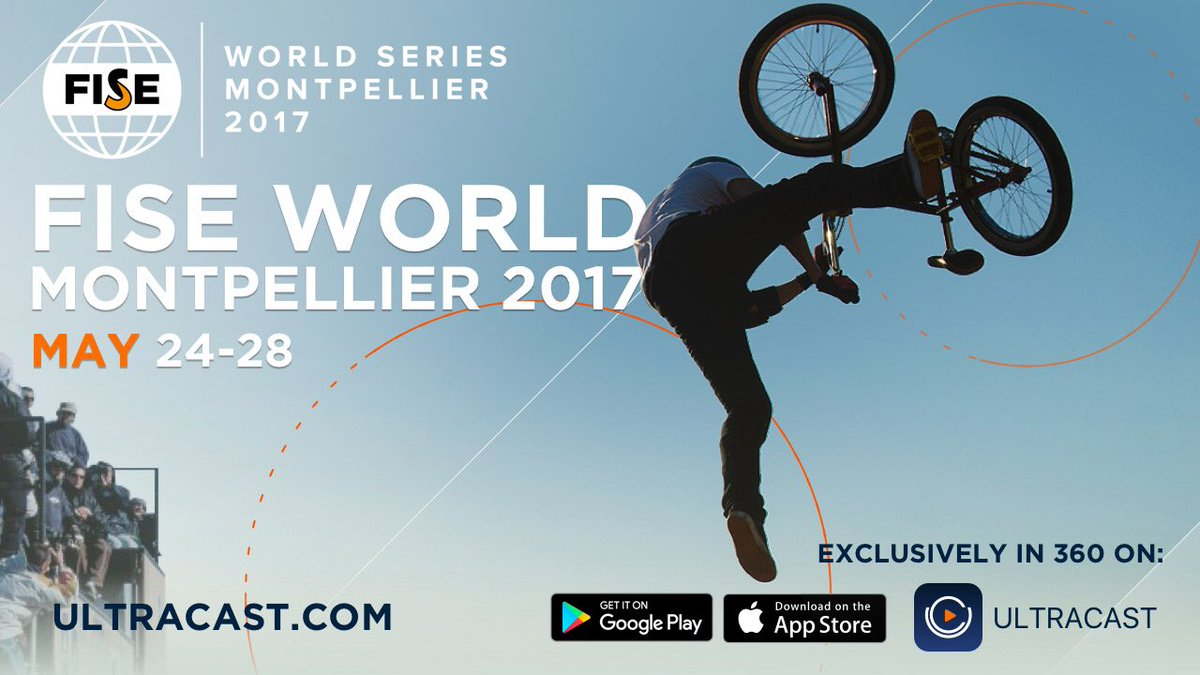 We will be ULTRACASTing @fiseworld from #Montpellier next week May 24-28. Download #ULTRACAST to see the event live!  http://www. ultracast.com/app  &nbsp;  <br>http://pic.twitter.com/UePiRggeYQ