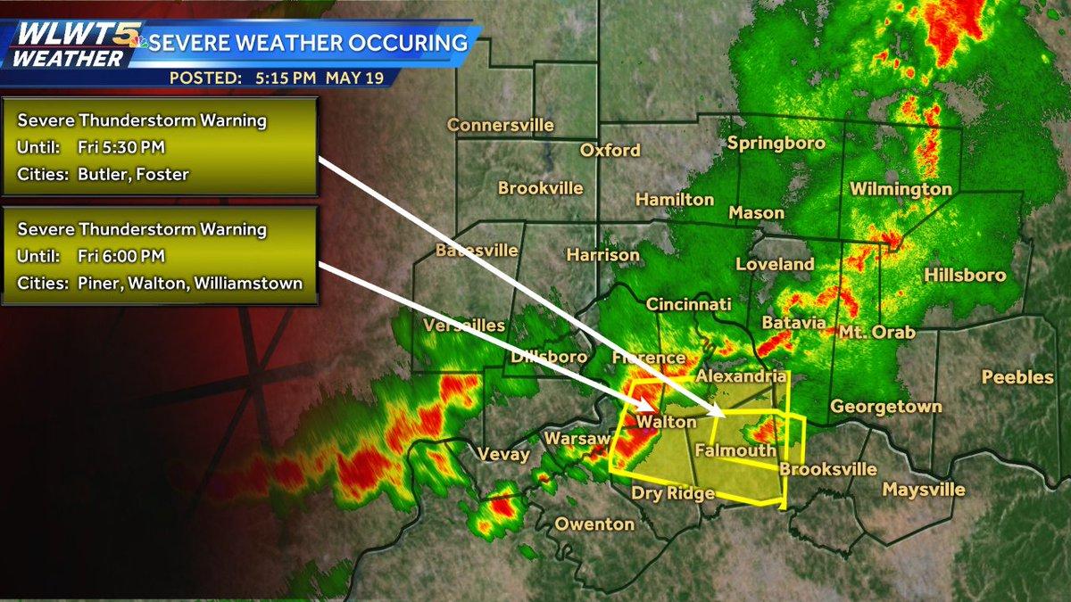 Warnings In Effect Wlwt Interactive Radar Weather Alerts