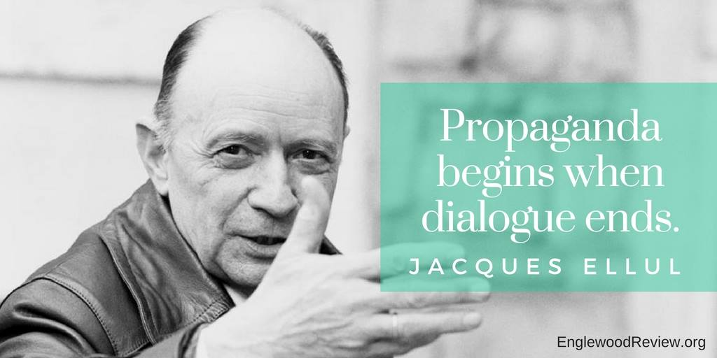 Timely words from Jacques Ellul, who died on this day in 1994...  #RIP https://t.co/yxHHJlSwl2