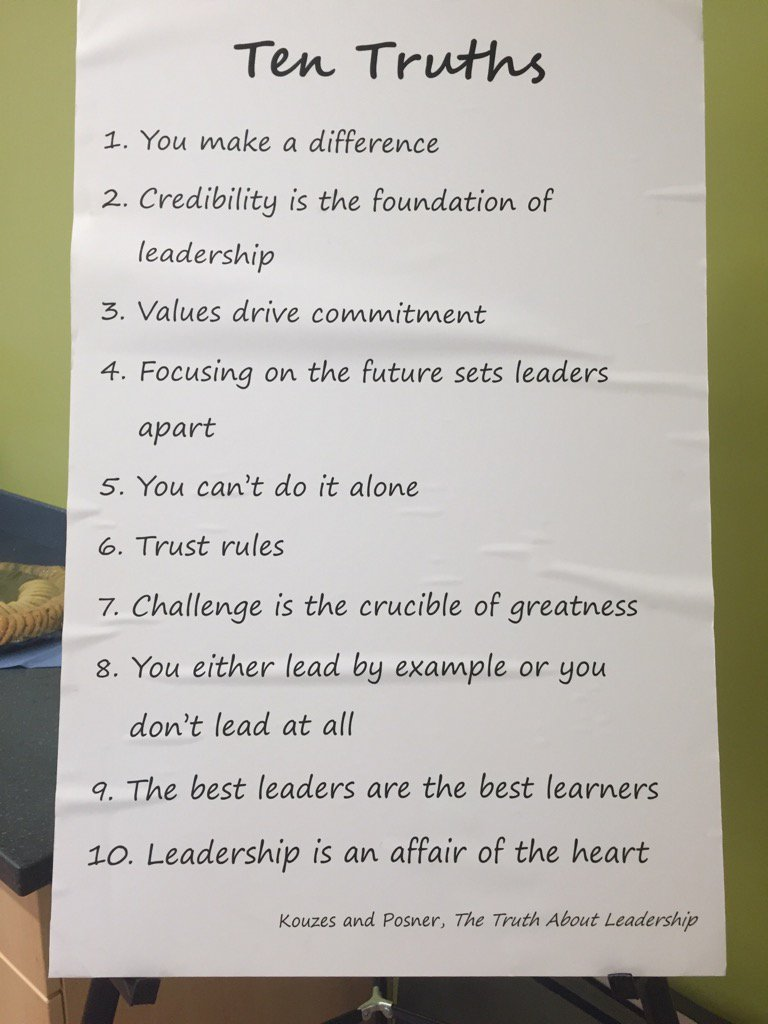 crucibles of leadership examples