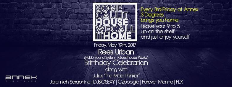 Exclusive 40th Bday shindig 2nite at @AnnexChicago w/ @Czboogie &amp; the @3DegreesChicago residents. Hope you can joins us. #RealHouseMusic <br>http://pic.twitter.com/s5usHzjzcK