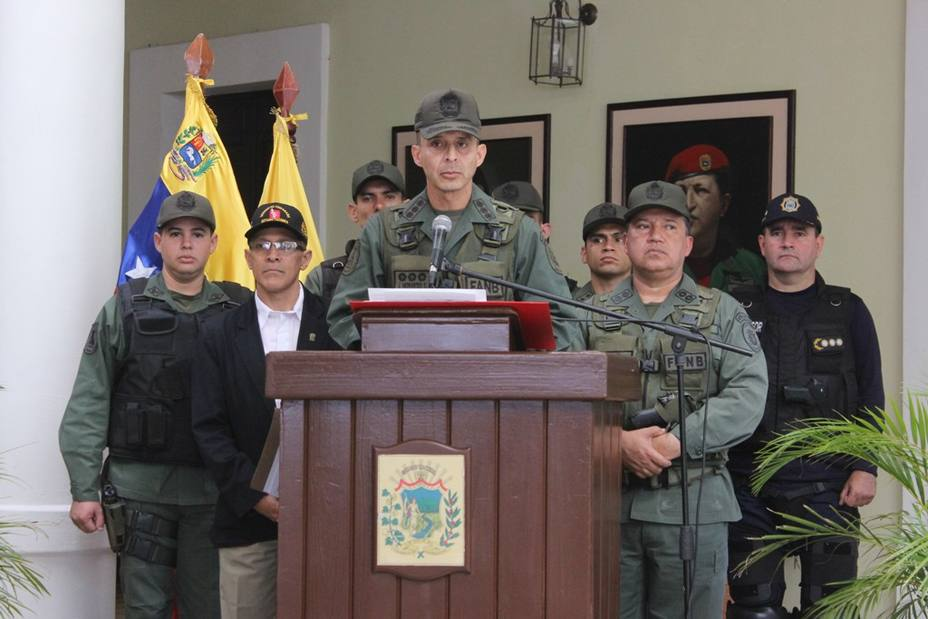 Andes: marches should be informed to the military authority