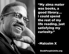 """My Alma mater was books, a good library…I could spend the rest of my life reading"" Malcolm X born #OTD 1925 #ushistory #AfAmHist #MalcolmX https://t.co/VTWYUPzJVR"