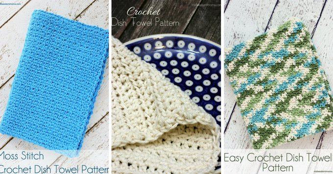Crochet Dish Towel Patterns