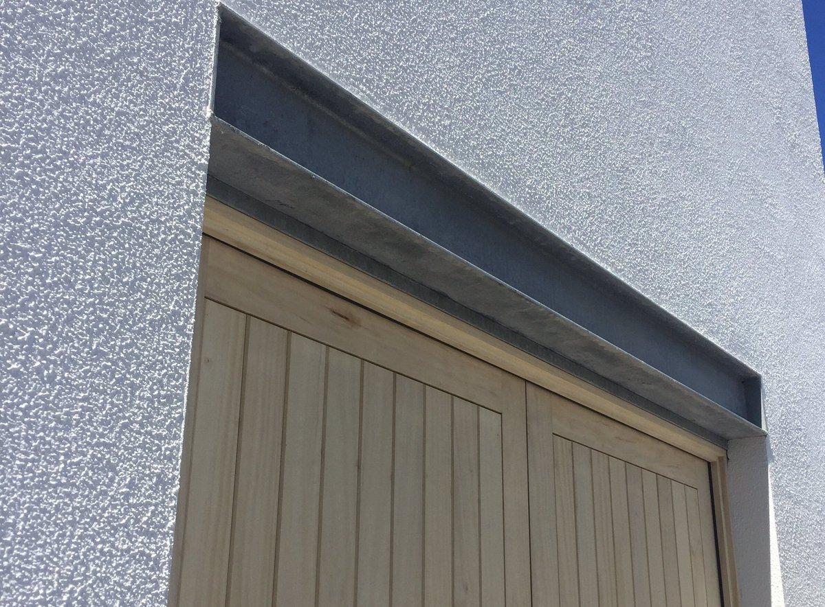 Noel Gorman on Twitter  Exposed steel lintel detail over Accoya doors...u2026   & Noel Gorman on Twitter: