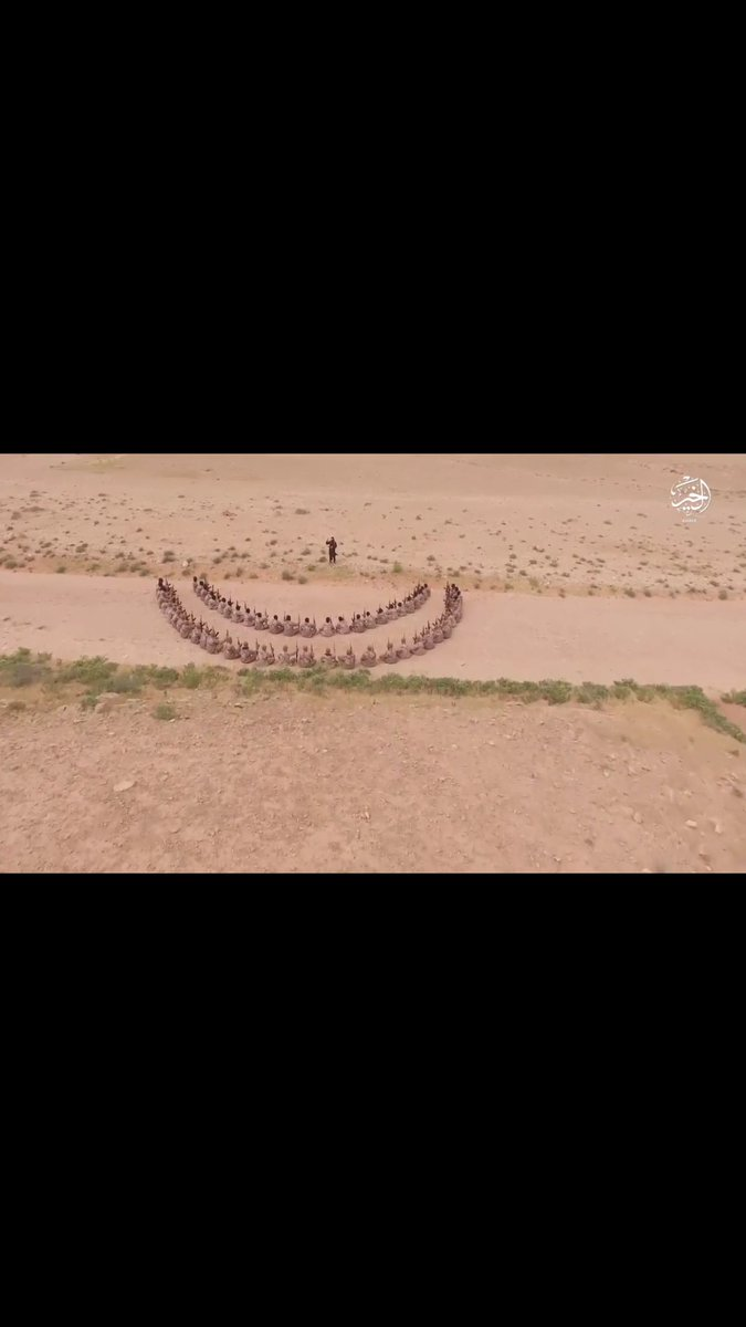 A new ISIS video from Deir Ezzor claims that out of 7,000 people who attended ISIS propaganda events in 40 days, 420 joined the group.