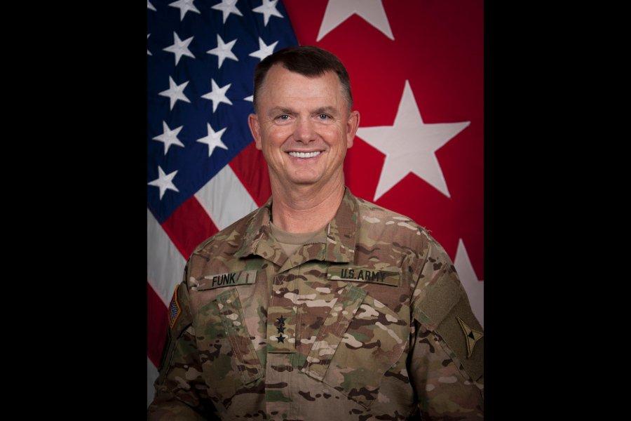 Lt. Gen. Paul Funk will assume duties from Lt. Gen. Stephen Townsend, who is currently commanding @CJTFOIR