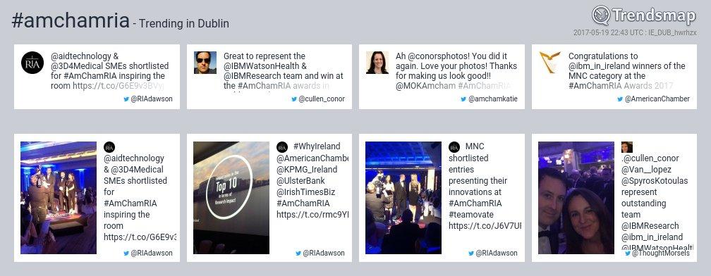 #amchamria is now trending in #Dublin   https://www. trendsmap.com/r/IE_DUB_hwrhzx  &nbsp;  <br>http://pic.twitter.com/gejaVcsr0O