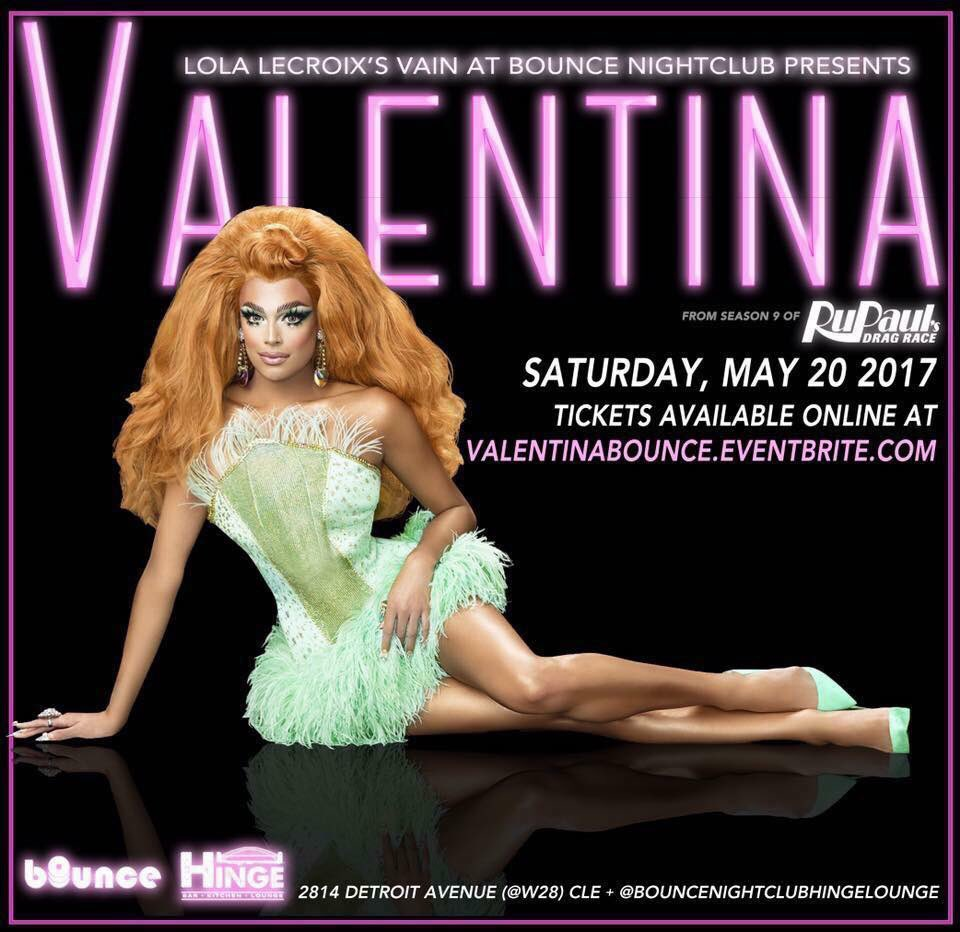 Can't wait to meet u tomorrow night at @BounceNightclub Cleveland, get...