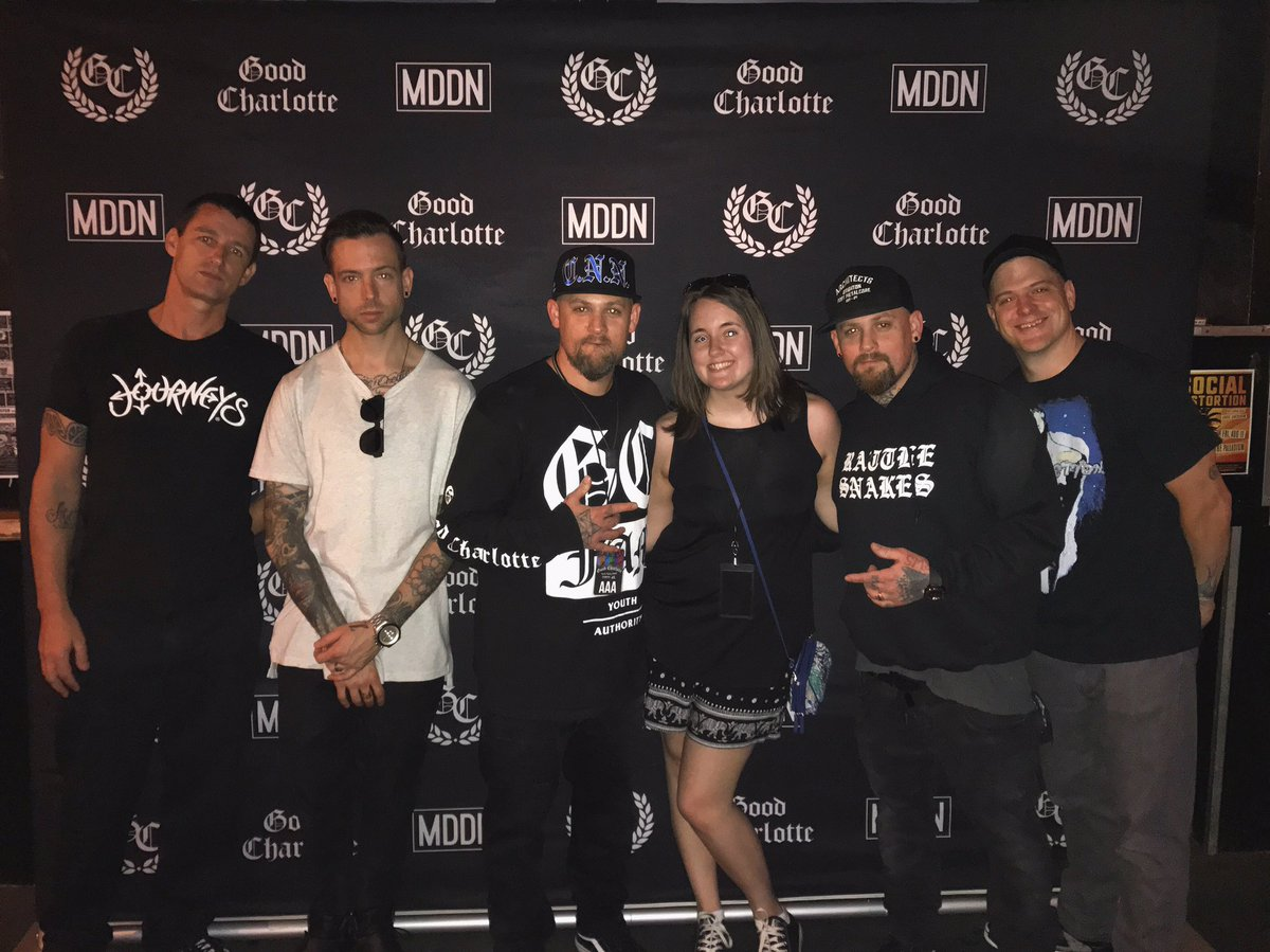 So awesome to meet these guys again! Can't wait for the show to start...