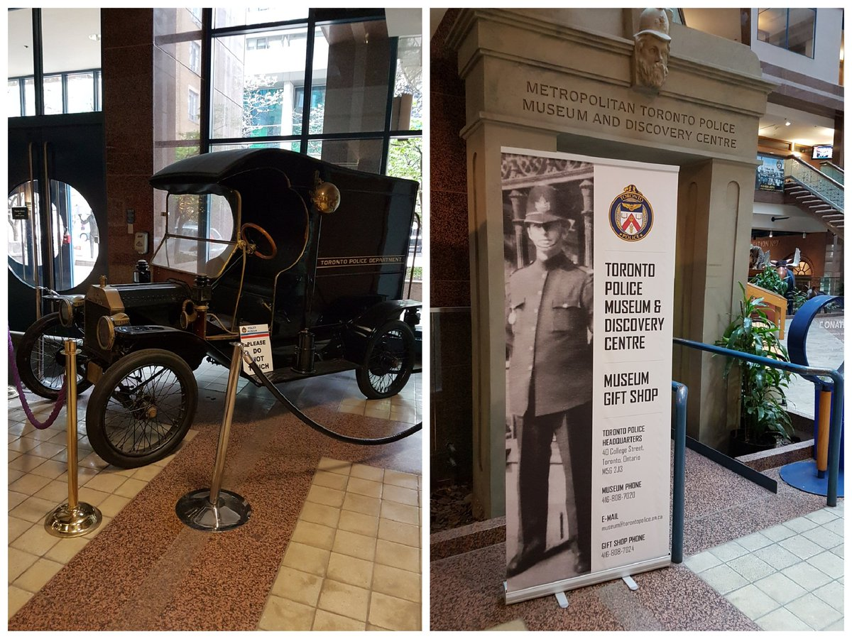 During #PoliceWeek2017 be sure to visit the #TPS #museum #toronto #tourism interesting #history #PoliceWeekON #police  @TorontoPolice<br>http://pic.twitter.com/wtGodAzWP7